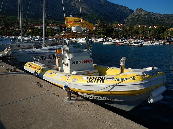 Ratownicwo morskie w Chorwacji