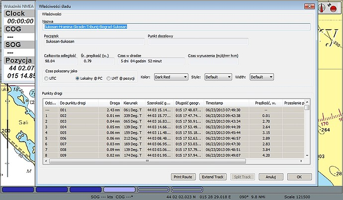 program nawigacyjny opencpn