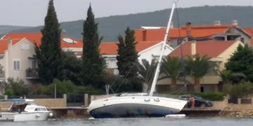 Wypadki na morzu w Chorwacji